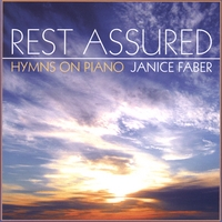 CD cover for Rest Assured by Janice Faber